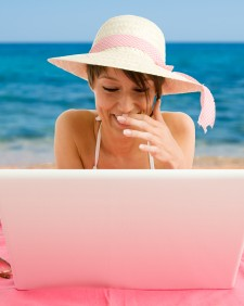 On the Beach: Holiday Blogging Competition