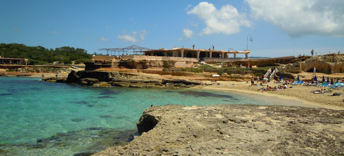 Cala Conta Beach - On the Beach Ibiza Guide