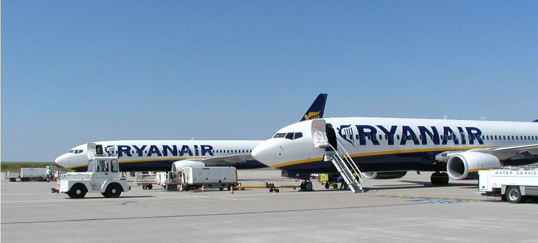 Checking in with Ryanair