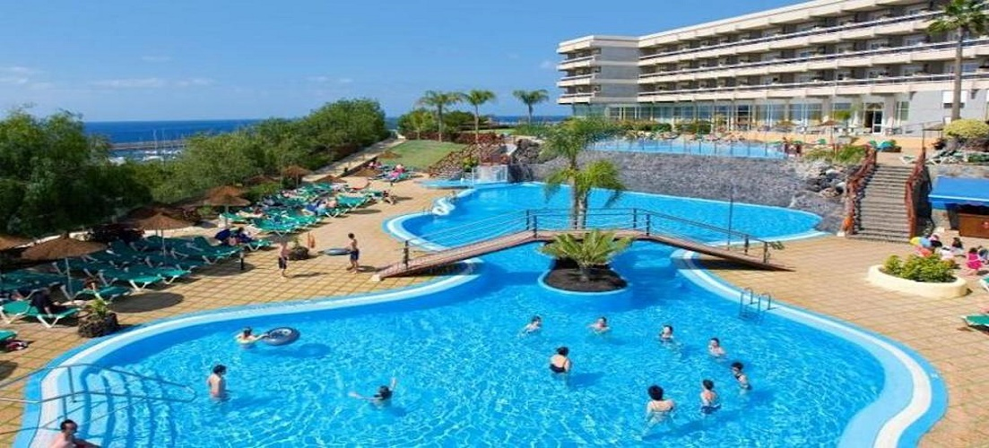 The popular Aguamarina Golf Hotel in Tenerife, the perfect place to take the stag or hen do overseas.