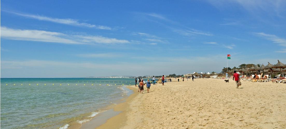 sunshine on the beach