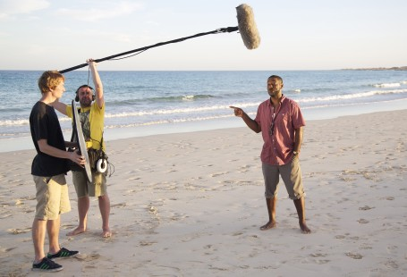 The making of our beachin' TV advert