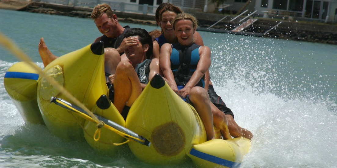 Top Beach Water Sports - banana boating