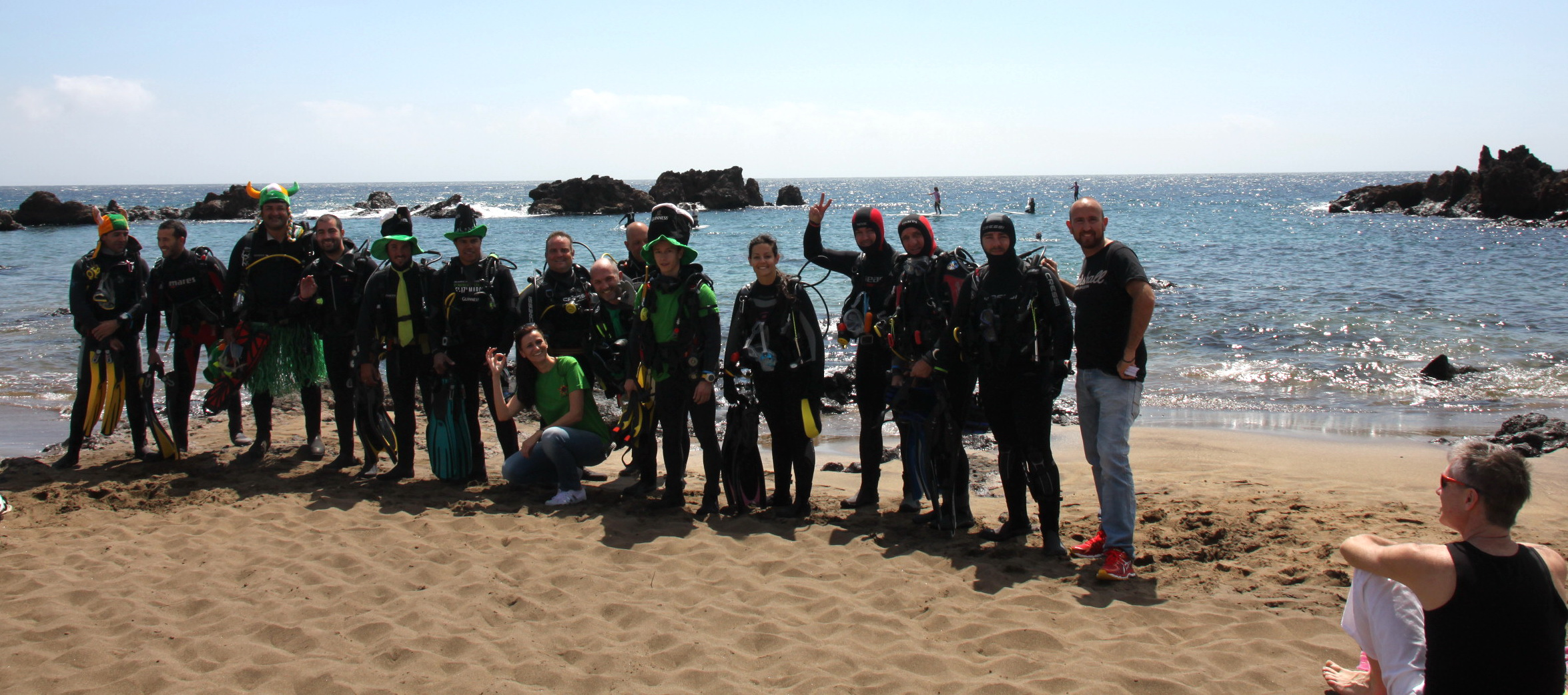 St. Patrick's Day in Lanzarote - Diving