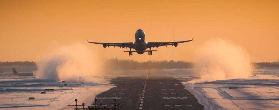 Plane winter