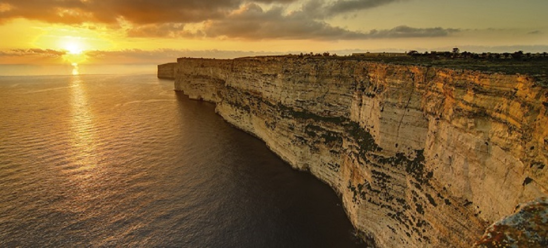 The coastline of Gozo - a paradise island