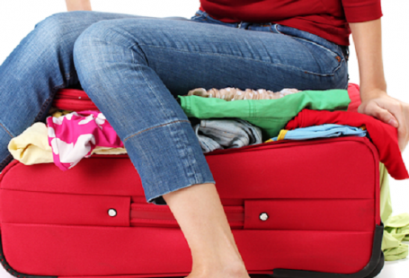 How to pack light…