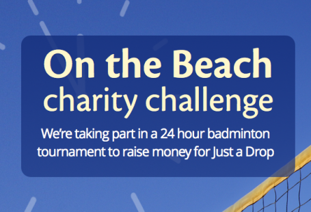 On the Beach Charity Challenge – Just a Drop