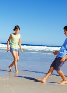 Kids skip school for summer holiday