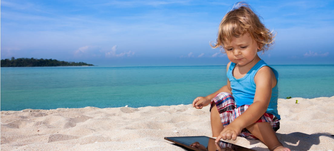 Travelling with Infants on your beach holiday