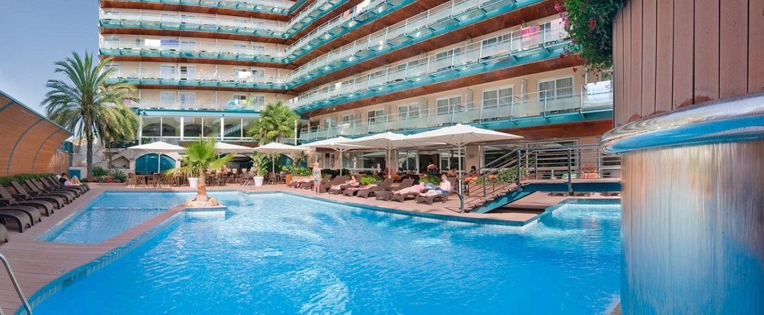 Отель кактус испания