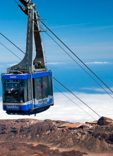 Cable Car Rides over the Highest Mountain in Spain