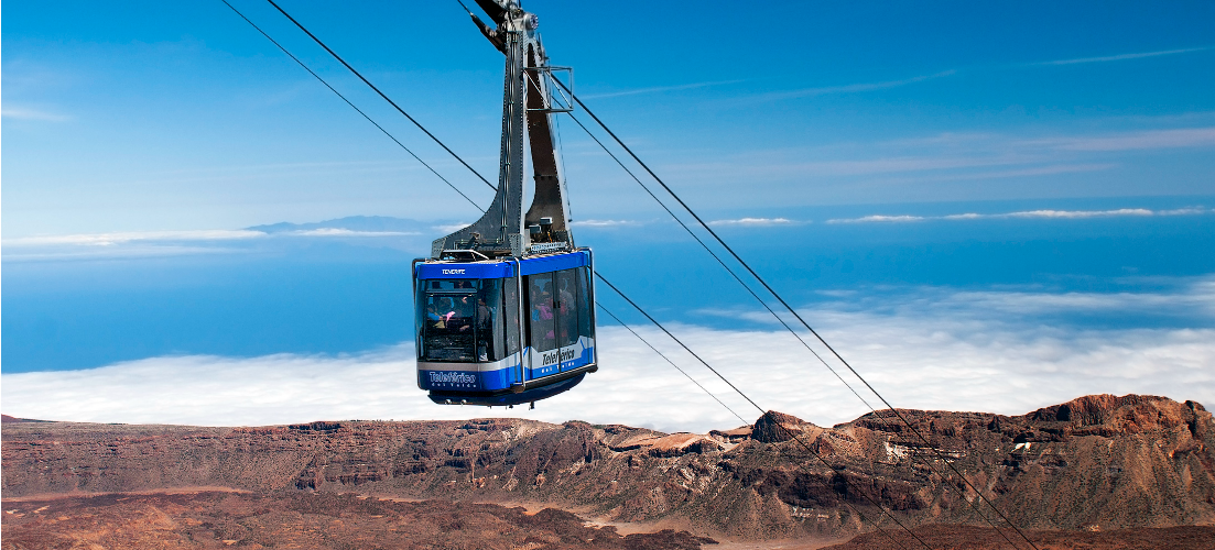 Cable Car Ride Over Spain's Highest Mountain
