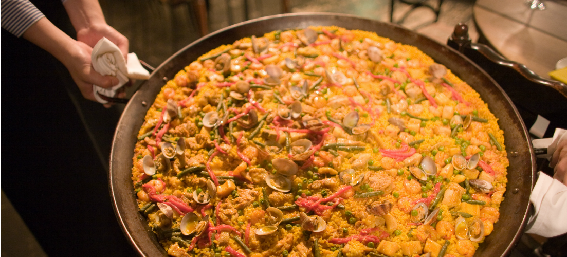 Paella | #FoodFriday Tapas | On the Beach