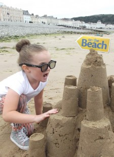 Winners of the King of the Sandcastles Competition!