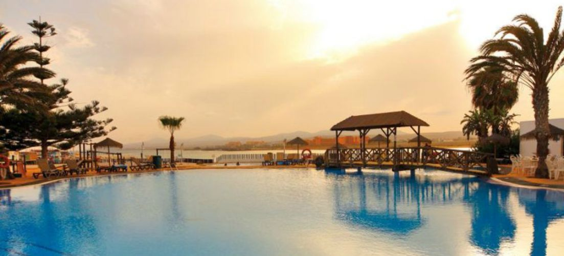 Barcello Castillo Beach Resort pool area