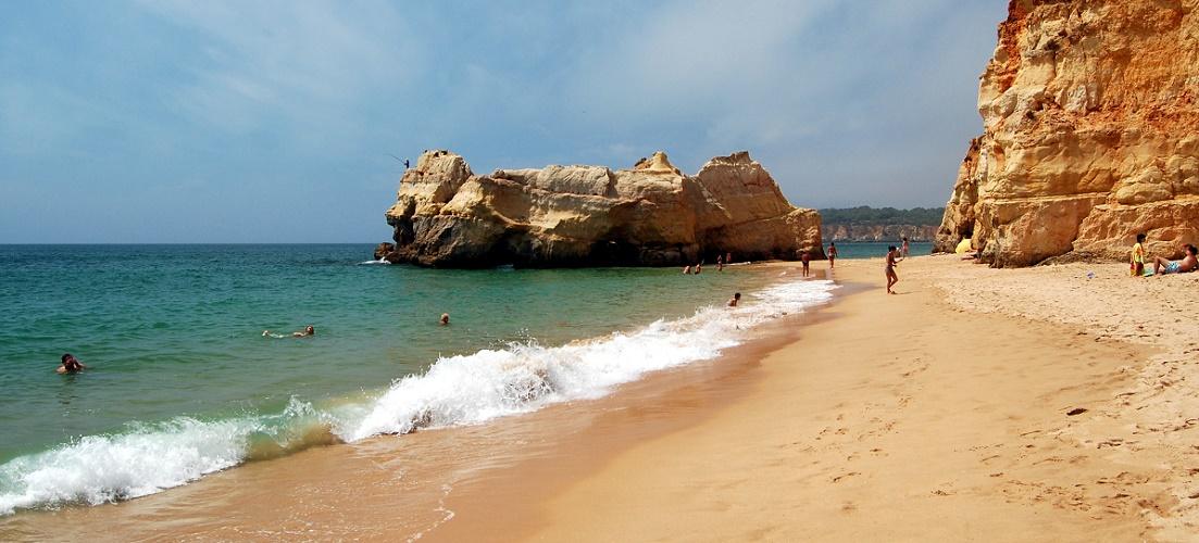 Praia da Rocha in Portugal