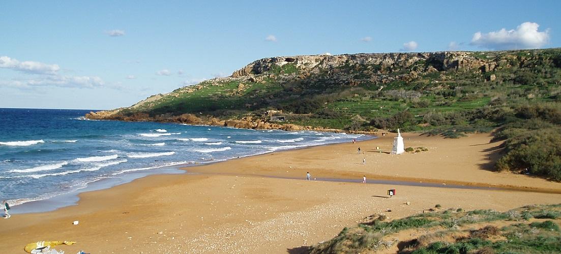 Ramla Bay Beach Malta