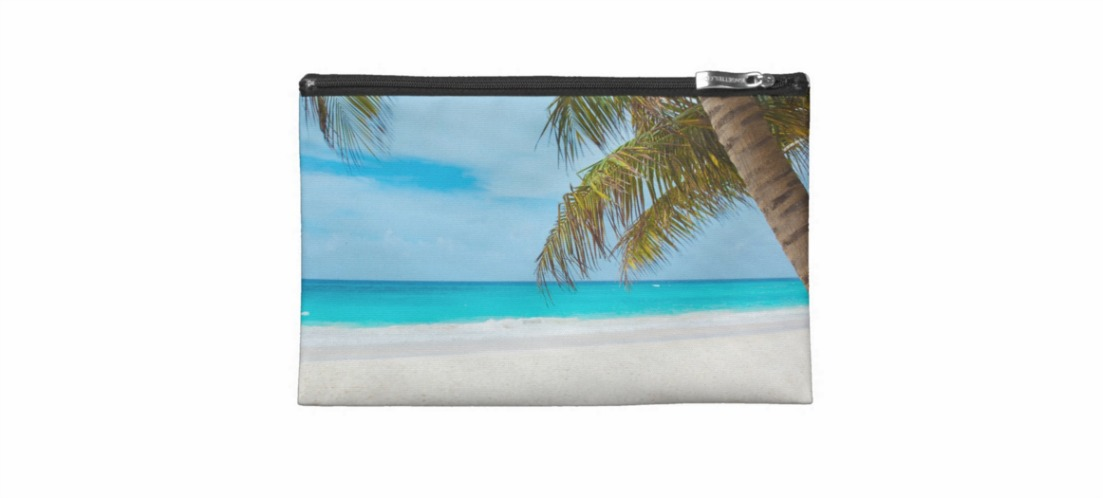 Totally Beachin Makeup Bag