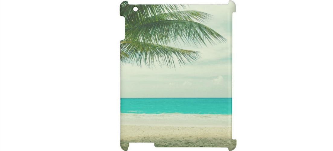 Totally Beachin iPad Case