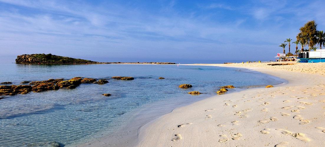 Nissi Beach in Cyprus