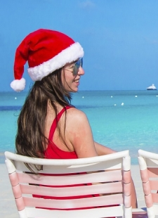 Spend Christmas on the beach? Why not!