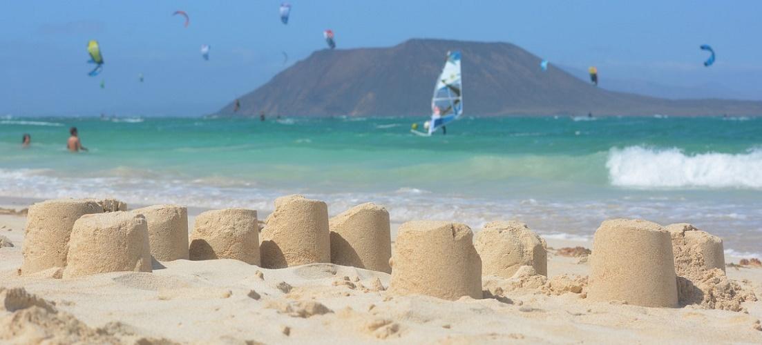 Corralejo beach, a hightlight in our Fuerteventura travel guide