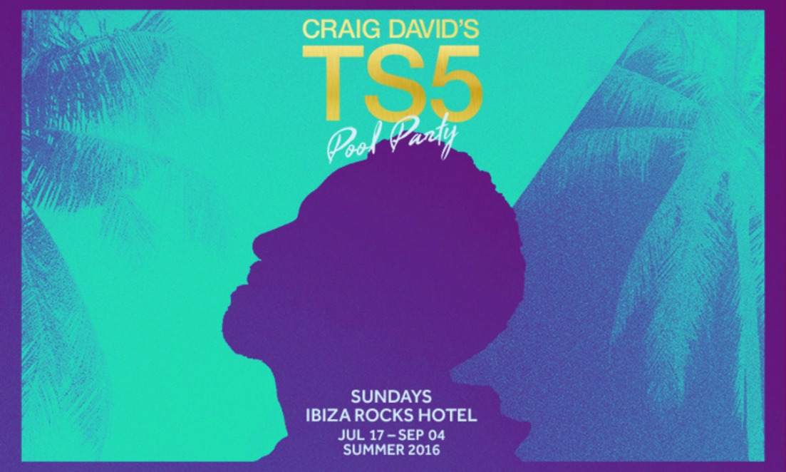 Craig David's Pool Party ar Ibiza Rocks Hotel
