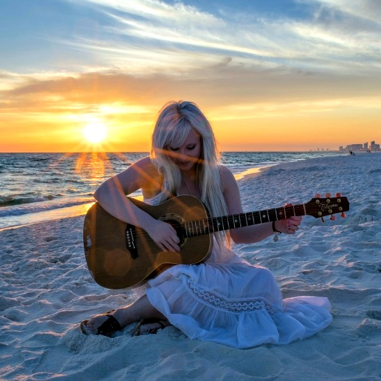 music is better on the beach