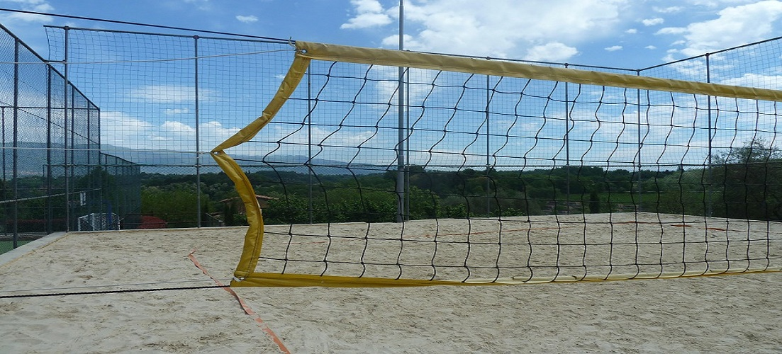 Volleyball is one of our favourite beach games