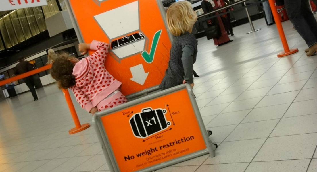 Hand luggage only restrictions