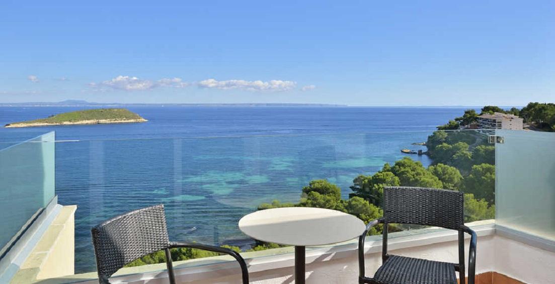 Melia Calvia Beach Review - Balcony Image