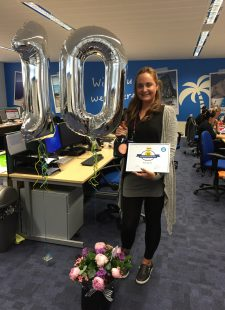 Celebrating Ami Byrne's 10 year work anniversary