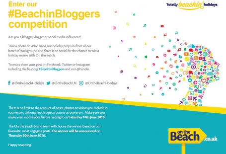 #BeachinBloggers competition winner – announced!