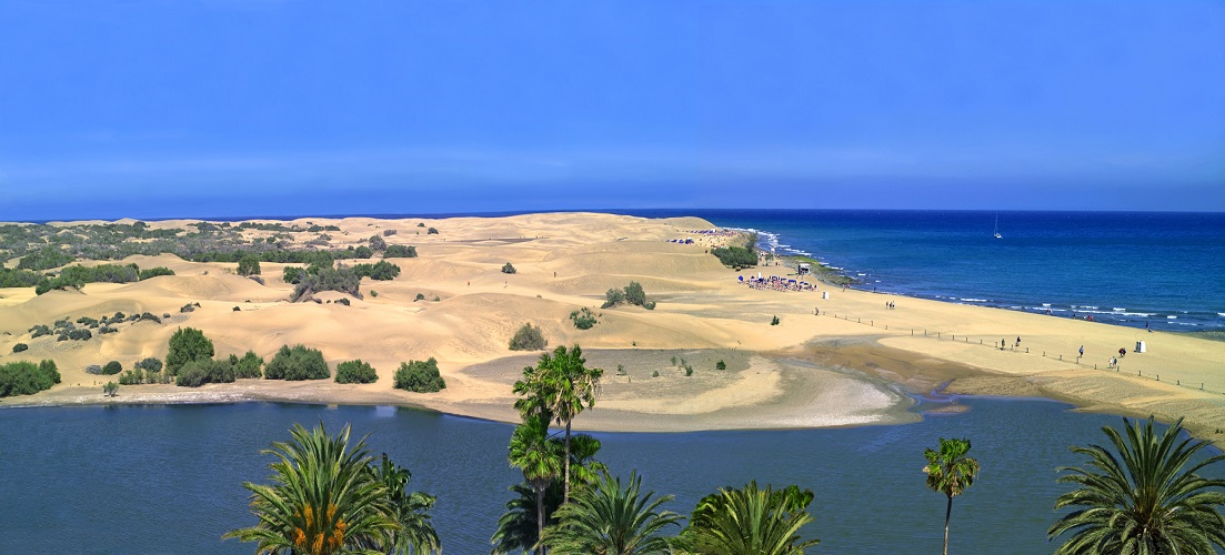 The beaches are one of 10 ways to lose your heart to Gran Canaria