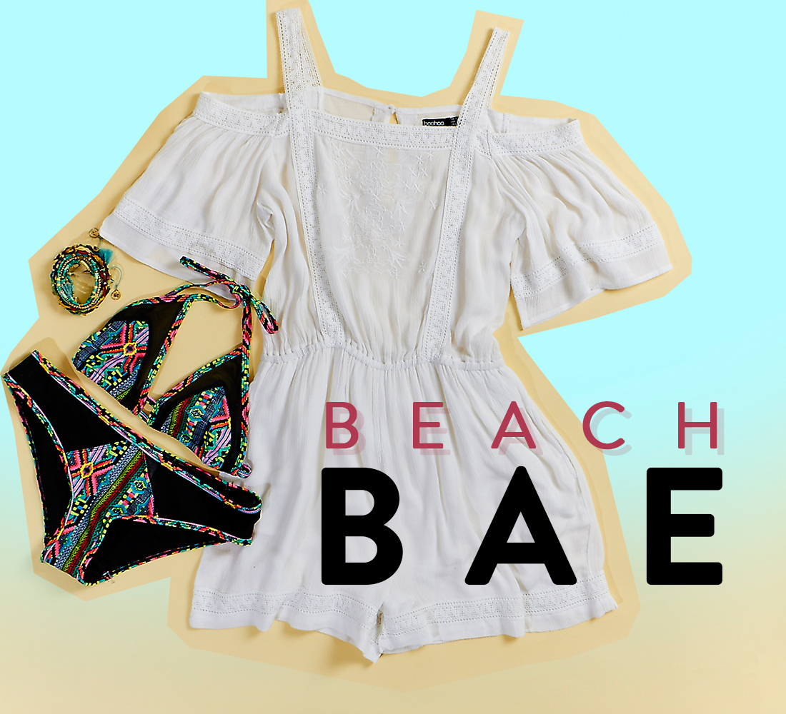 On the Beach and Boohoo: Beach bae