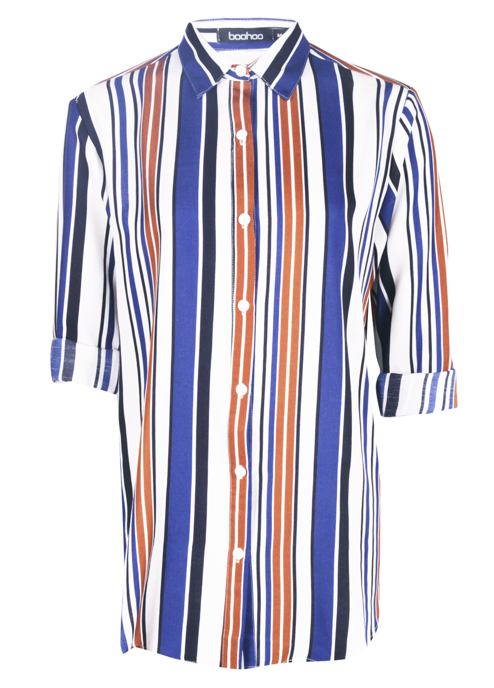 Isobel striped oversized shirt/
