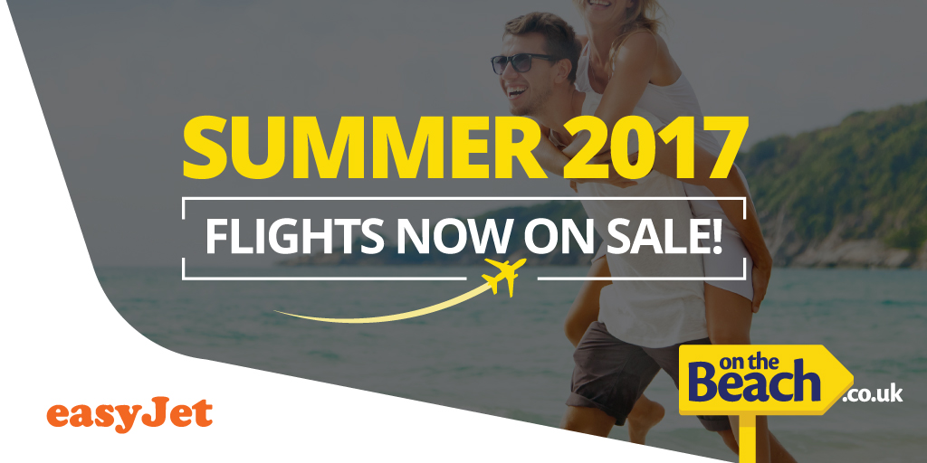 Summer 2017 flights are now on sale