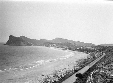 Time traveller: Benidorm Pontiente Beach