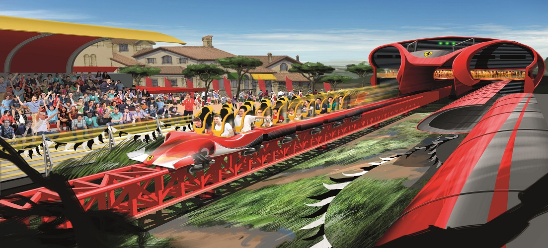 Red Force at Ferrari Land