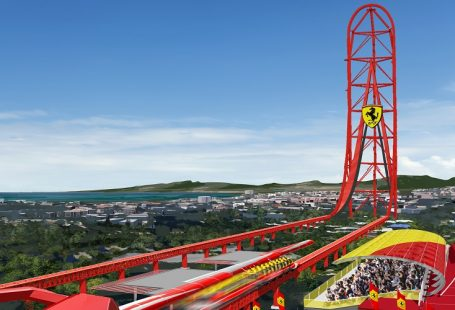 Five fast facts about the rides at Ferrari Land