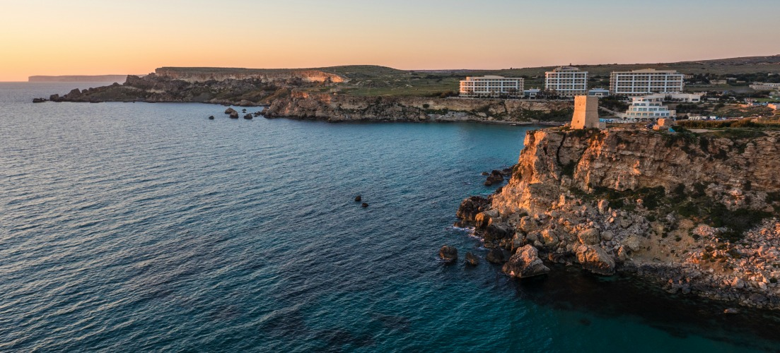 Golden Bay Beach Malta