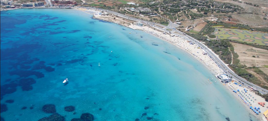 Mellieha Ghadira Bay Beach