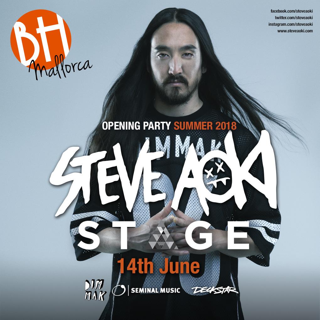 Steve Aoki BH Mallorca