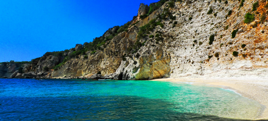 Ithica Beach, Greek island-hopping trips