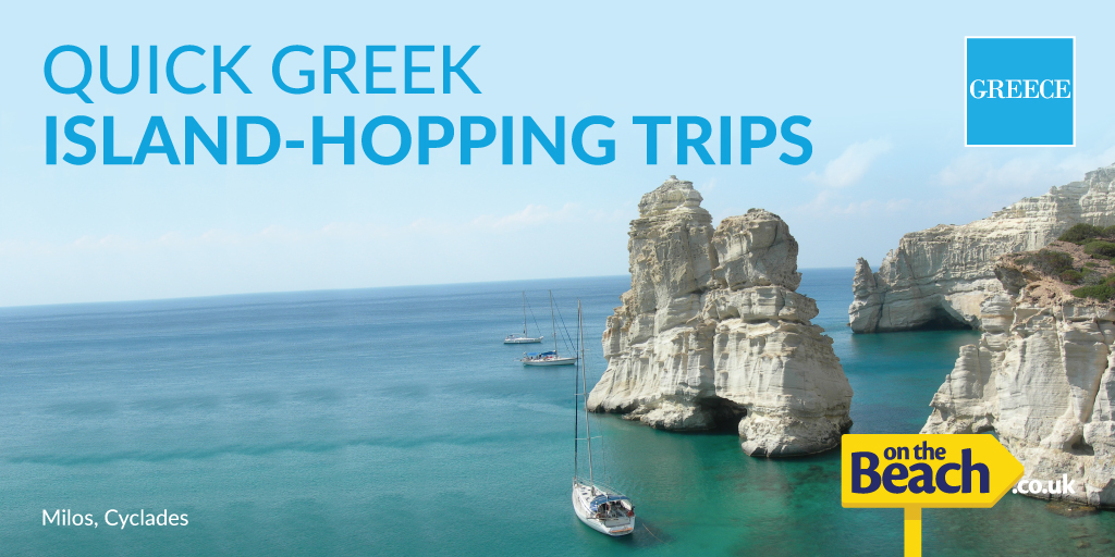 Greek island-hopping trips