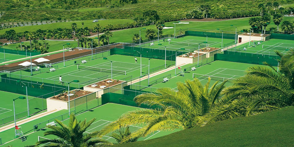The Ritz Carlton Abama hotels with tennis facilities