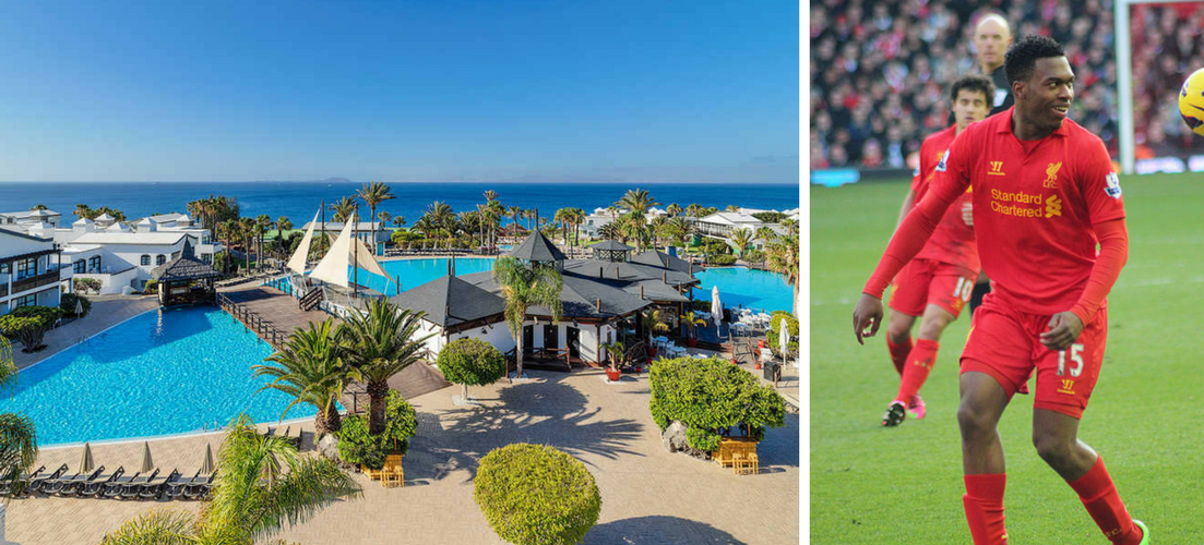 What a footballer's wages could get you in holiday terms