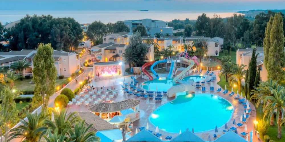 Aquis Sandy Beach Resort is one of the best all inclusive hotels for families