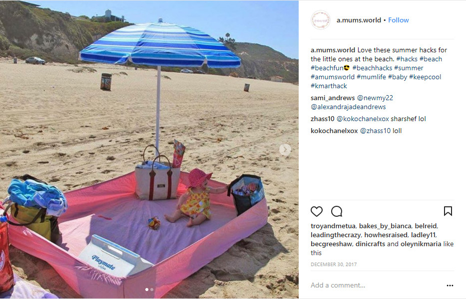 best beach hacks